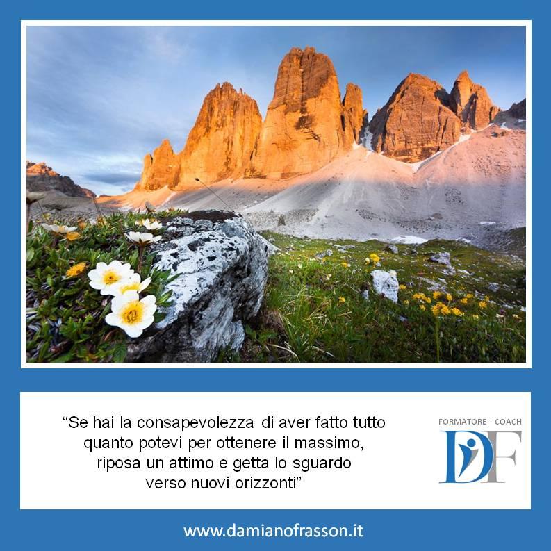 Aforisma 22 Motivazione Obbiettivi Damiano Frasson Gruemp